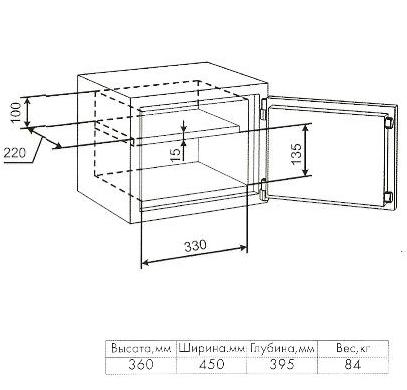 Несгораемый сейф для дома своими руками чертежи 6