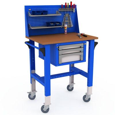 Стол для инструмента на колесах своими руками