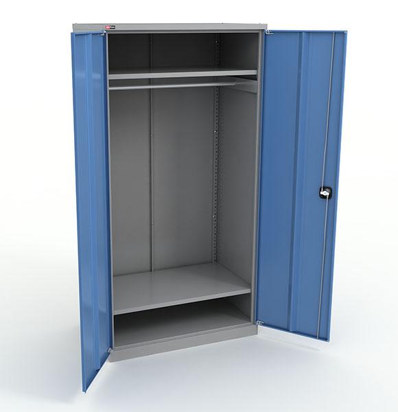 Новый гардеробный шкаф глубиной 625мм, идеальный вариант для габаритной спецформы